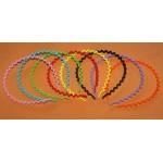 Ободки пластмассовые, цветные, 1шт