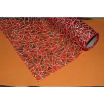 Органза упаковачная, блиллиант, красная, 50х50см, 1шт