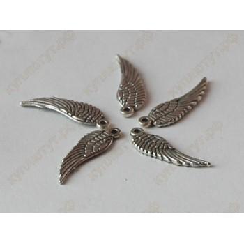 Тибетские серебренные крылья 15шт.