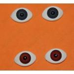 Акриловые глазки, 2цвета, 18мм