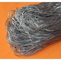 Шнур для плетения, цвета серебро, золото 1мм*10 метров