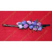Повязка с цветочными бутонами