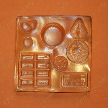 Молд набор шоколадок - А143