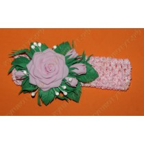 Повязка Розовые розы
