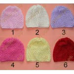 Детские шапочки 1-3 года, выбор цвета, 1шт.