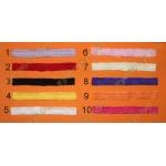 Ажурные повязки на голову для девочек, выбор цвета