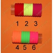 Резинки для волос яркие, выбор цвета 1шт.