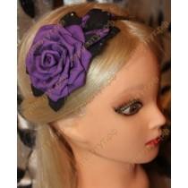 "Повязка ""Фиолетовая роза"" 1шт."