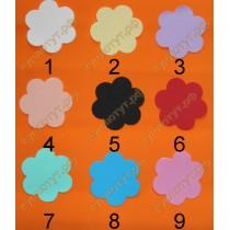 Цветок заготовка фоамиран 7,6см 1шт. выбор цвета