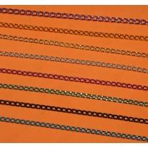 Цветные цепочки, 8 цветов, 1 метр