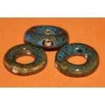 Античное кольцо, керамика, 26 мм, 25 шт