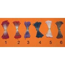 Тычинки 6 цветов, 15шт.