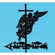Большой флюгер Ангел - Бесплатная доставка