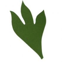 Листья пиона 1, 110мм, 5 штук - А12