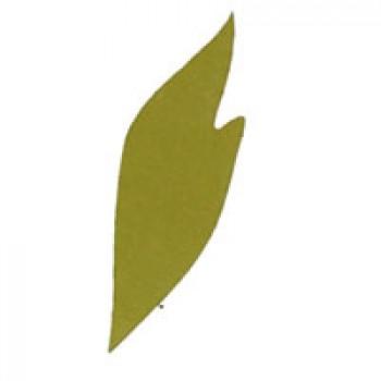 Листья пиона 2, 90мм, 5 штук - А13