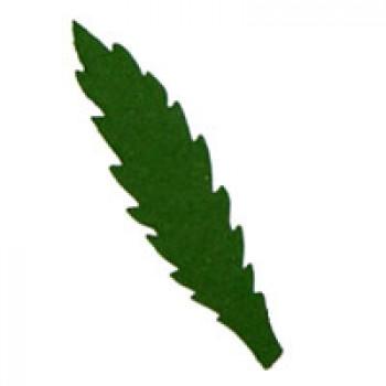 Листья василька, 45мм, 5 штук - А16