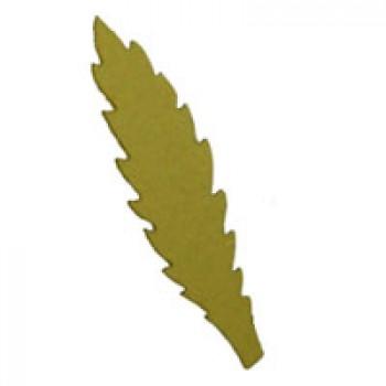 Листья василька, 70мм, 5 штук - А17