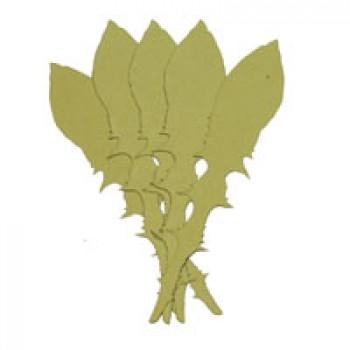Листья одуванчика, 100мм, 5 штук - А3