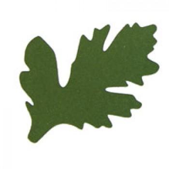 Листья хризантемы 2, 90мм, 5 штук - А6