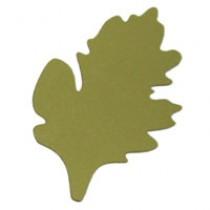 Листья хризантемы 3, 110мм, 5 штук - А7