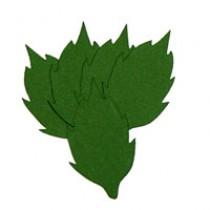 Листья розы 1, 55мм, 5 штук - А9
