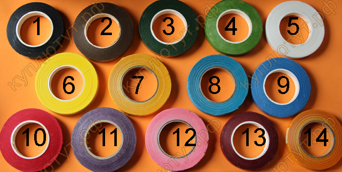 Тайп лента, 14 цветов, 1шт
