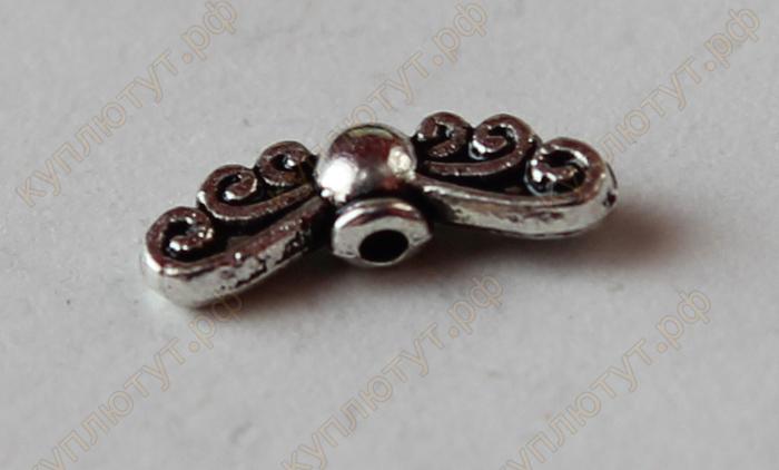Тибетский серебряный бисер