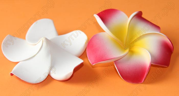 Цветочки из фома 10см, 1шт