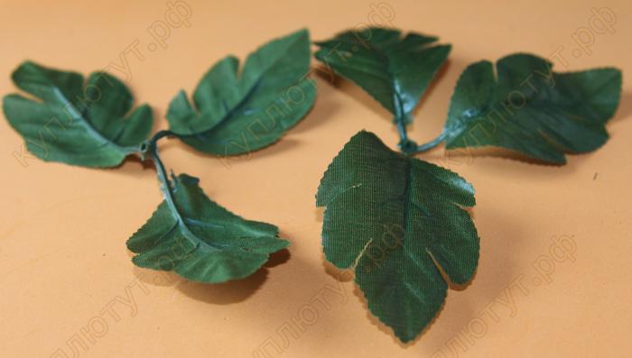 Листья хризантемы, 1шт