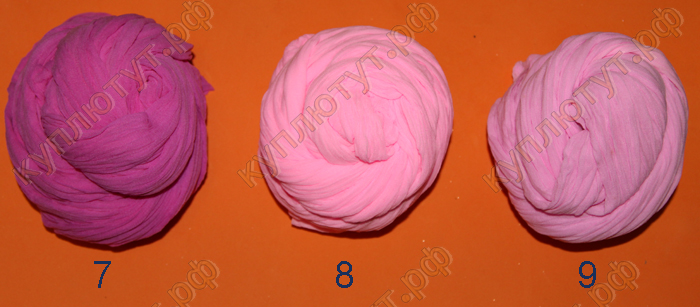 Капрон для изготовления цветов 2,5м 9 цветов